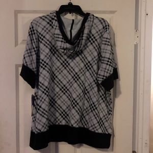 L.A Blues Tops - Plus woman's hoodie shirt